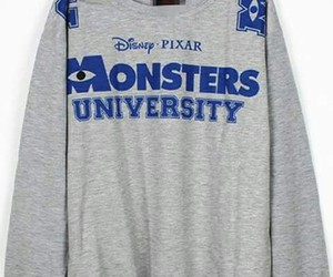 blue, disney, and monsters inc image