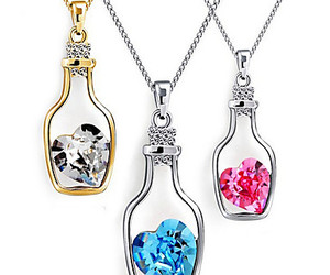 fashion, heart, and jewelry image