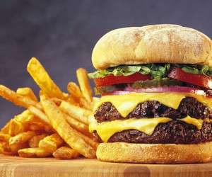 burger, food, and foods image