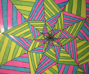 art, trippy, and tripping image