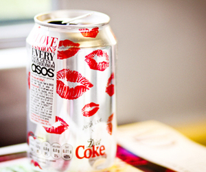 coke, kiss, and pink image