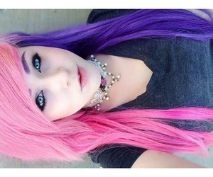 alt girl, alternative, and dyed hair image