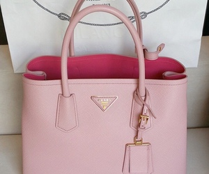 chic, designer, and pink handbags image