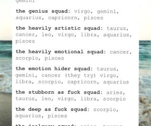 tumblr, funny, and zodiac image