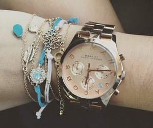 blue, bracelets, and forever 21 image