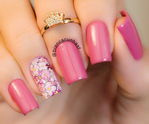 art, pink, and design image