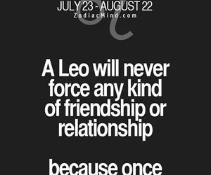 Leo and zodiac sign image