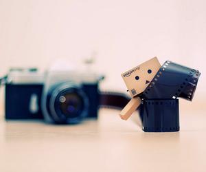 danbo, camera, and photography image