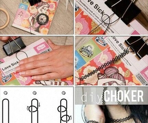 beauty, choker, and craft image