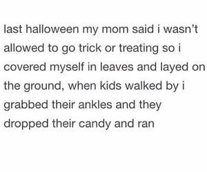 candy, funny, and Halloween image
