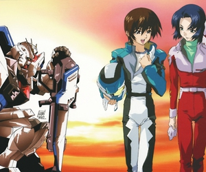 anime, mecha, and boy x boy image