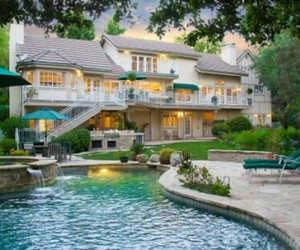 dream house, fun, and house image