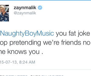 funny, twitter, and naughty boy image