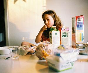 breakfast, food, and girl image