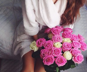 flowers, love, and style image