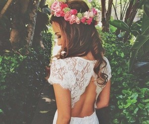 fashion, nature, and flowers image