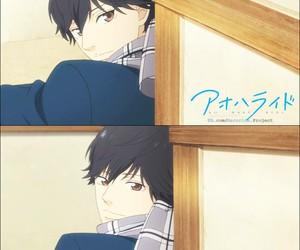anime, anime boy, and ao haru ride image