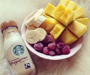 fruit, starbucks, and food image