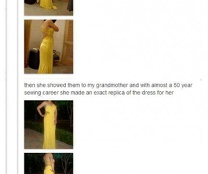 funny, dress, and haha image
