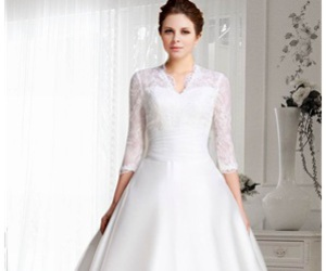 cheap wedding dresses and discount wedding dresses image