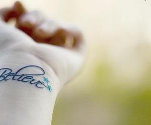 believe, tattoo, and tatoo image