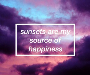 quote, sunset, and light image