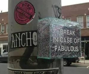 fabulous, glitter, and grunge image