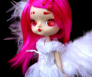 blythe, pink, and cute image