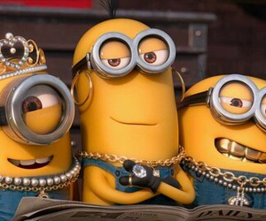 minions and gold image