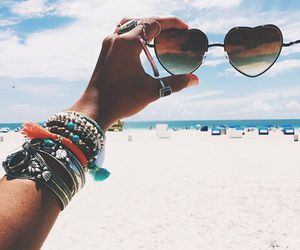 style, summer, and sunglass image
