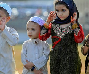 hijab, islam, and kids image