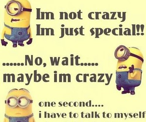 minions, crazy, and funny image