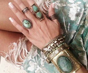 chic, fashion, and gypsy image