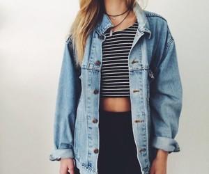 nice, want it, and denim jacket <3 image