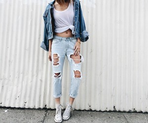 fashion, outfit, and indie image