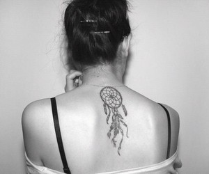 dreamcatcher, tattoo, and love image