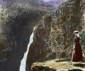 archives, landscape, and waterfall image