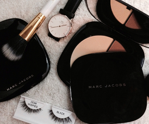 contour, lashes, and marcjacobs image
