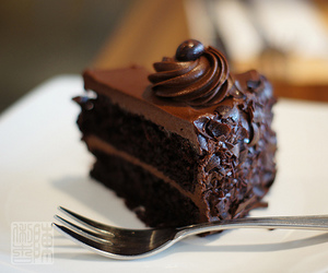 chocolate, cake, and food image