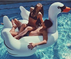 goals, Swan, and cute image