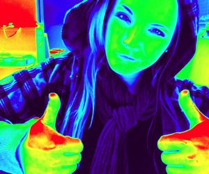 blue, green, and thumbs up image