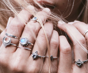rings and hair image