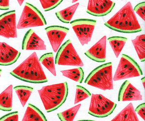 healthy, summer, and watermelon image