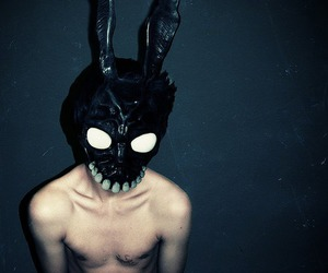 bunny, donnie darko, and mask image