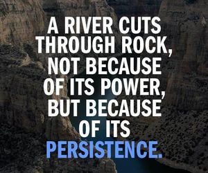 motivation, persistence, and quote image