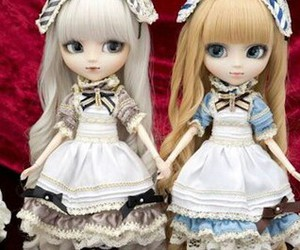 alice in wonderland, doll, and pullip image