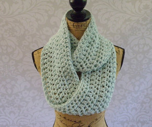 scarf, etsyfinds, and infinityscarf image
