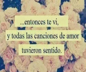 love, songs, and frases image