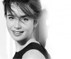 lancome and lily collins image