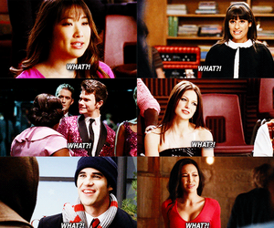 glee, lea michele, and puck image